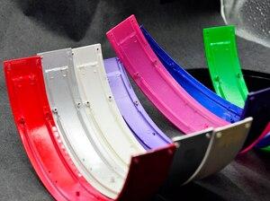 Image 2 - צבע ברק מבריק Defean למעלה בגימור ראש להקת להקות ברגי חלקי אוזניות hings סטודיו פעימות אוזניות אוזניות