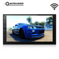 AUTOLOVER 7175 Universal Android 6 0 WIFI GPS DVR 1080P Car Multimedia Player With Mirror Link