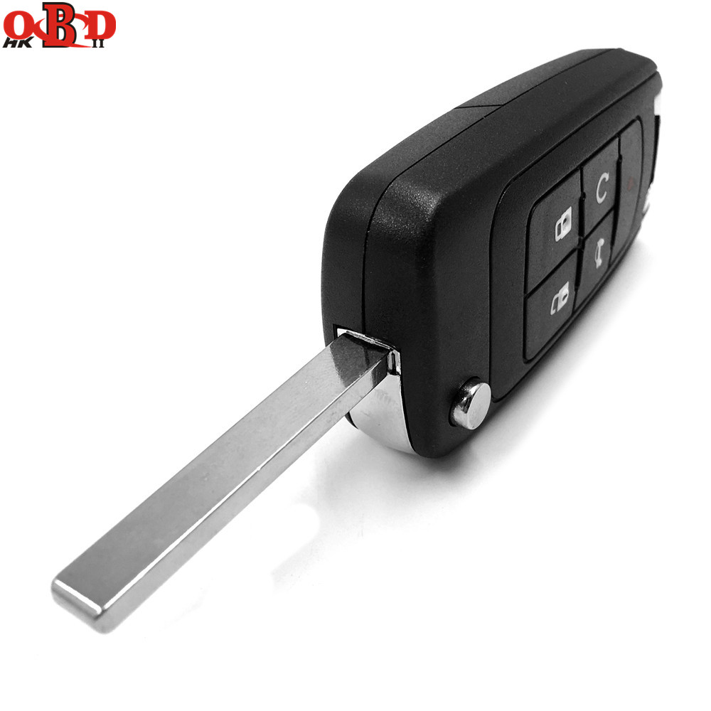 HKOBDII Flip Remote Car Key 5 Buttons 315MHz with ID46 Electronic Chip For Chevrolet in Car Key from Automobiles Motorcycles