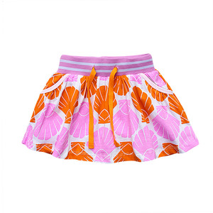 Girls Skirts Pure Cotton Brand Summer Robe children Tutu Skirt Kids Clothes Character animals Printed Children skirt