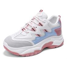 Hersevll/сезон весна-осень; модная женская повседневная обувь; коллекция года; женская Вулканизированная обувь; дышащая женская обувь на платформе; кроссовки