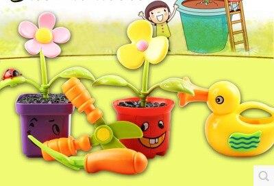 La plantation de fleurs jardin outil jouets jeux de simulation jeu ...