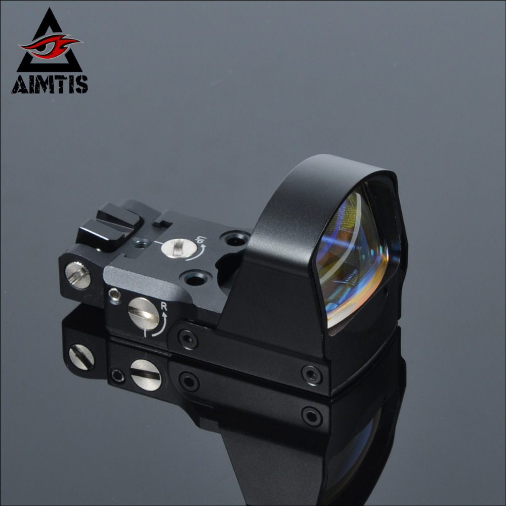 AIMTIS Best LP DP Pro Airsoft 1911 1913 Mount Sight Reflex Red Dot Sight Tactical Aim Scopes For Hunting Scope Accessories ...