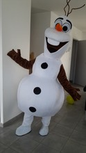 2016Adult New Olaf Mascot Costume Snowman Clothing Christmas Party Suit