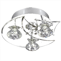 Contemporary LED Crystal Ceiling Pendant Lamp Lighting Chandelier