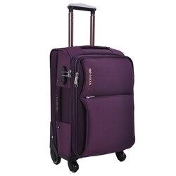Дорожный чемодан Оксфорд Спиннер чемодан Мужской Дорожный чемодан на колесиках Дорожный чемодан с колесами сумка на колесах
