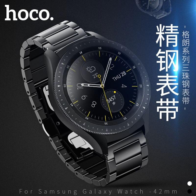 HOCO la Cinghia per Samsung Galaxy Orologio 42mm Banda In Acciaio Inossidabile Cinghia Da Polso In Metallo per Huami Amazfit Bip Astuto Della Vigilanza fascia