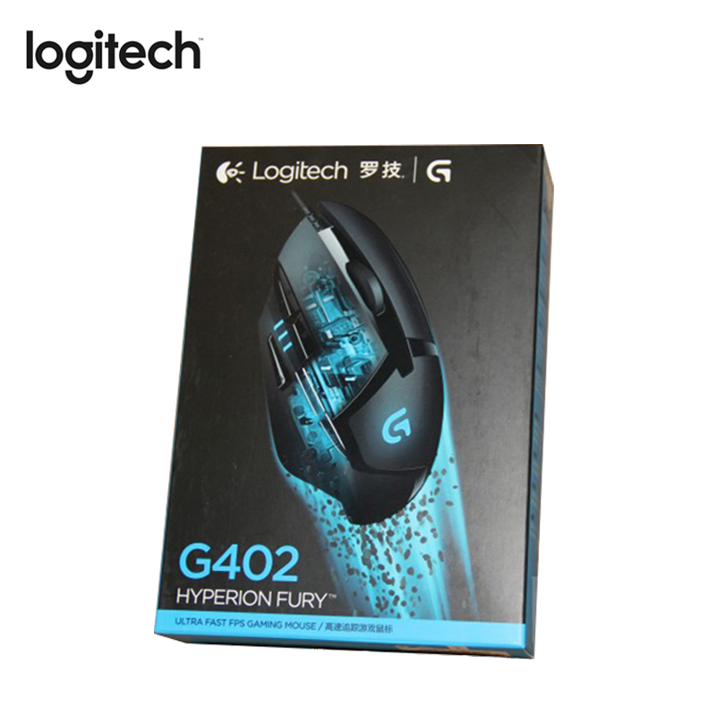 Logitech G402 Wired USB Gaming Mouse with Breathing Light 4000DPI for Mouse Gamer Competitive Gaming Mouse