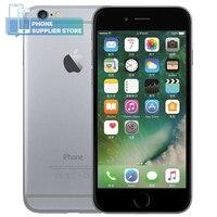 Apple iPhone 6 4G LTE разблокировка смартфона 4,7 дюймов IOS двухъядерный Touchsceen SIM бесплатно 16 Гб/64 Гб/128 ГБ rom отпечаток пальца мобильный телефон