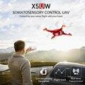 Syma X5UW 4CH RC Drone com Câmera profissional HD 2.4G Controle Remoto Quadcopter com FPV Wifi Real-time transmissão