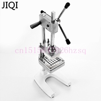 JIQI Stainless Steel Home French Fries Cutters Potato Chips Strip Vegetable Cutting Machine Maker Slicer Chopper