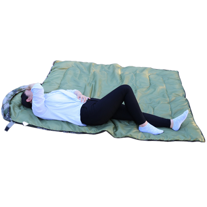 Image 3 - VILEAD Envelope type Ultralight Camo Sleeping Bag Portable Waterproof Summer Hiking Camping Stuff Adult Travel Quilt Lightweight-in Sleeping Bags from Sports & Entertainment