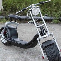 18inch Fat Tire Moped Vespa Harley Electric Scooter