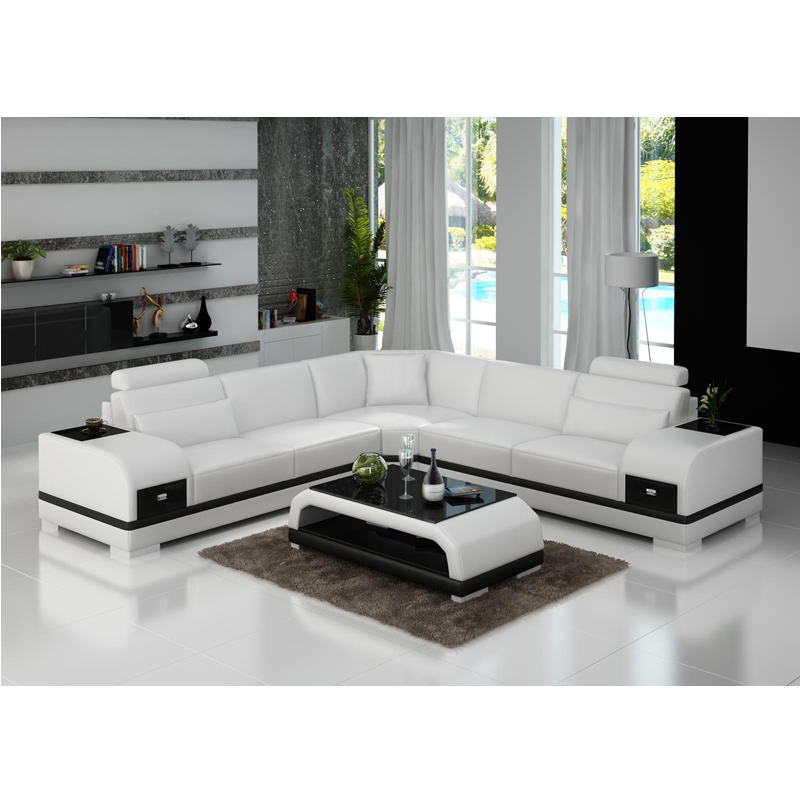 Low Price Furniture Living Room 6 Seater Sofa Set