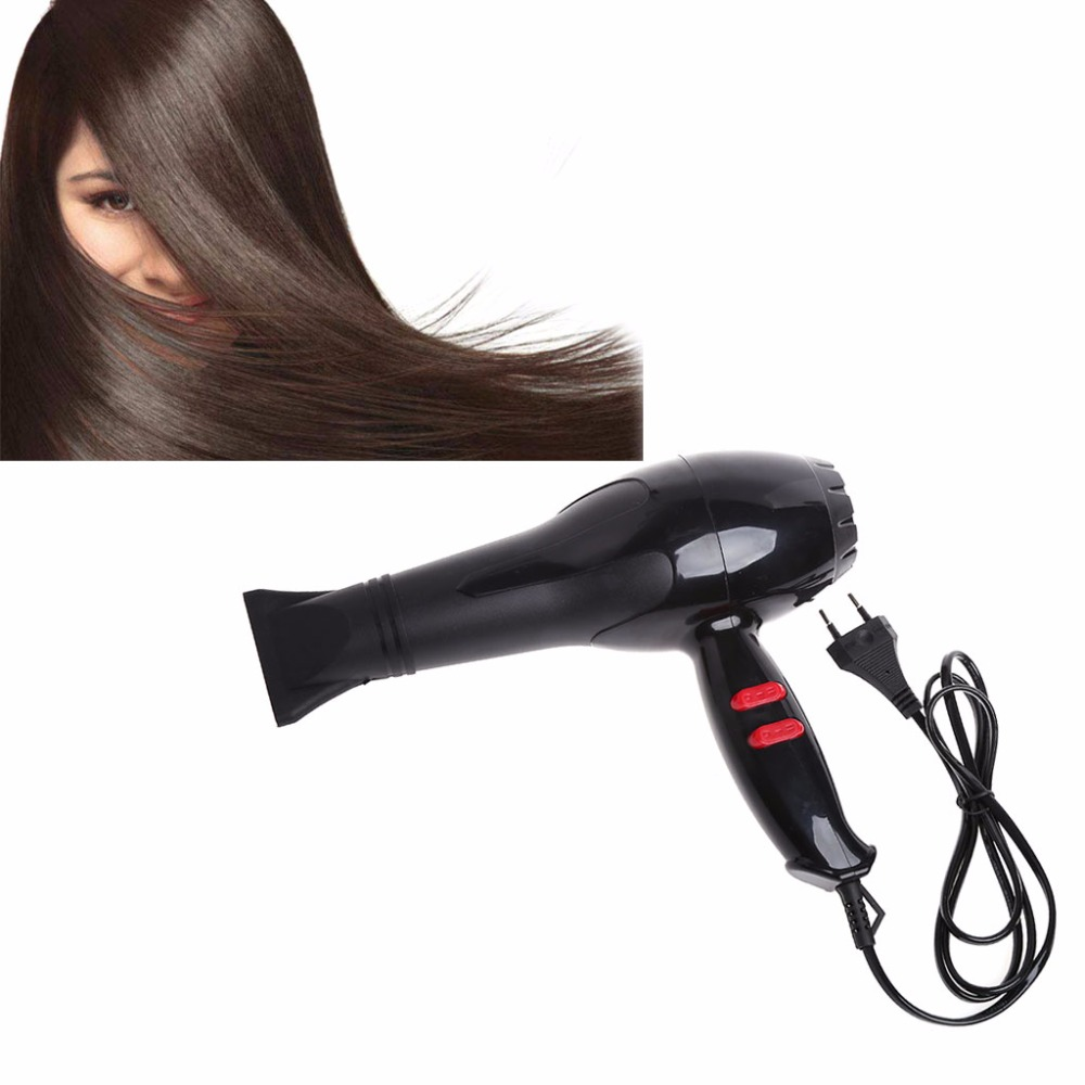 Professional Hair Blow Dryer 1800W Heat Blower Dryer Hot Cold Wind Salon EU Plug