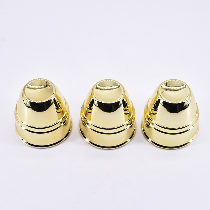 Three Cups And Balls (Large,Gold Color, Plastic) Magic Tricks Balls Appearing/Disappearing Close Up Gimmick Comedy Kids Magica