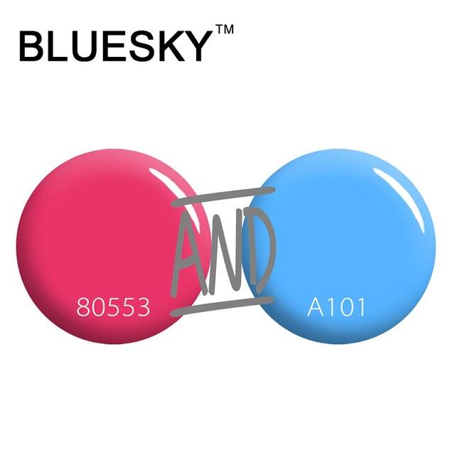 Bluesky 10ml Charming Shape Bottle Color Nail Polish Best Sale Nail Polish Lacquer