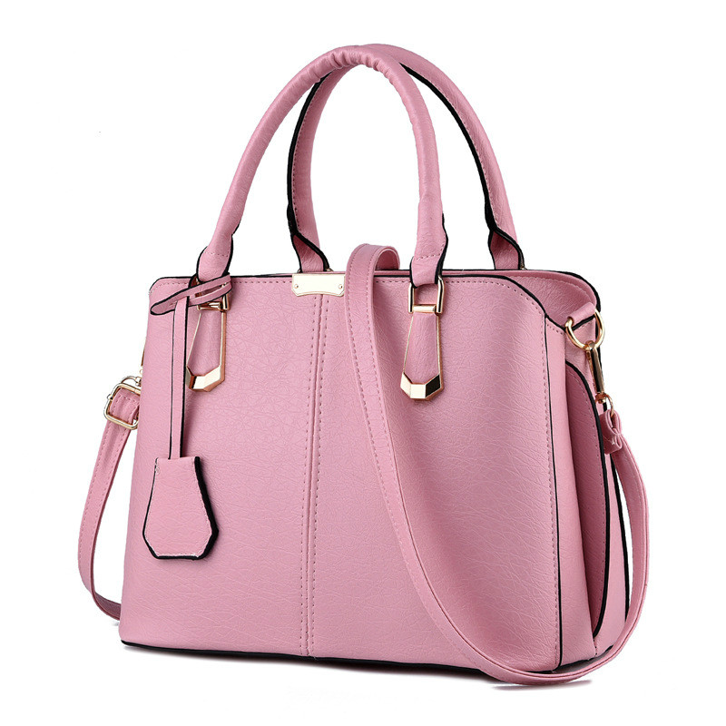MONNET CAUTHY Bags Woman Concise Leisure Fashion Elegant Office Ladies Handbag Solid Color Pink Sky Blue Green Wine Red Tote Bag Islamabad