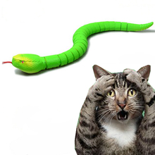 [MPK Store] Remote Control Snake Toy for Cats, With Built-In Rechargeable Battery, Fun Cat Toy, 3 Colors Available