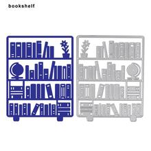 Bookshelf Embossing Metal Cutting Die Stencils Gifts DIY Scrapbooking Craft Photo Decor Mold Design For Invitation