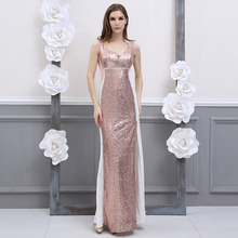 High Slit Sequin Dress Sleeveless V-Neck Sparkly Sexy Dress Pink Vestido Lentejuelas Long Dress Elegant Summer  60j020 high slit long sleeveless cami dress