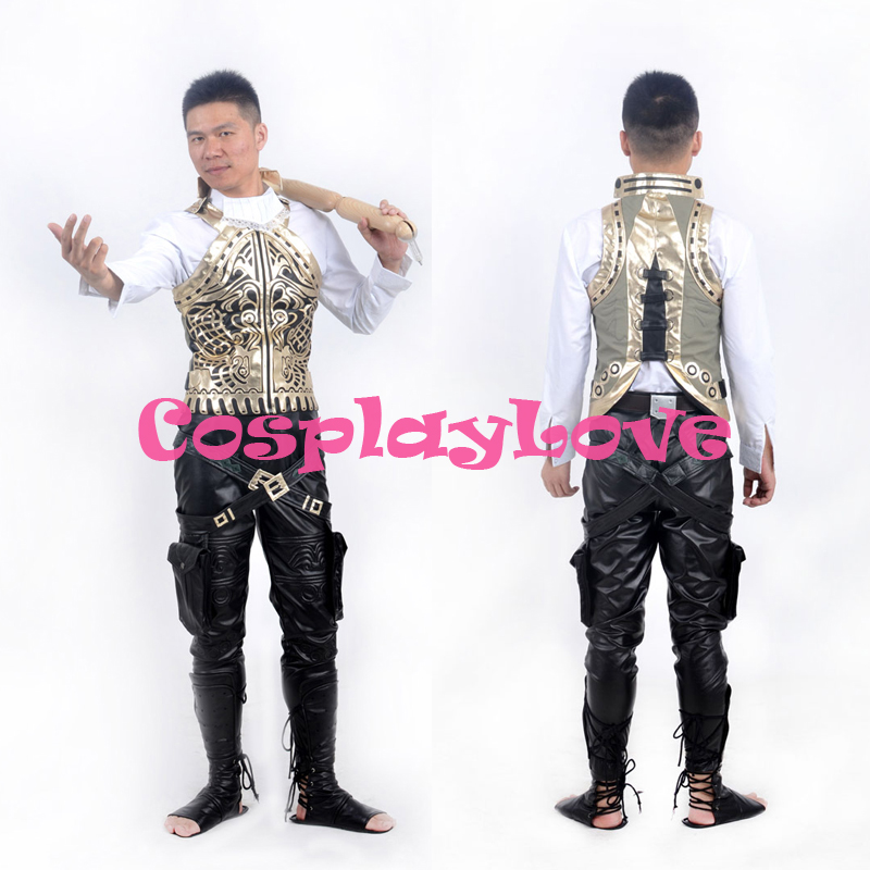 Japanese Game Final Fantasy XII Balthier Cosplay Costume Men Cos Outfit Custom Made High Quality Halloween Christmas CosplayLove