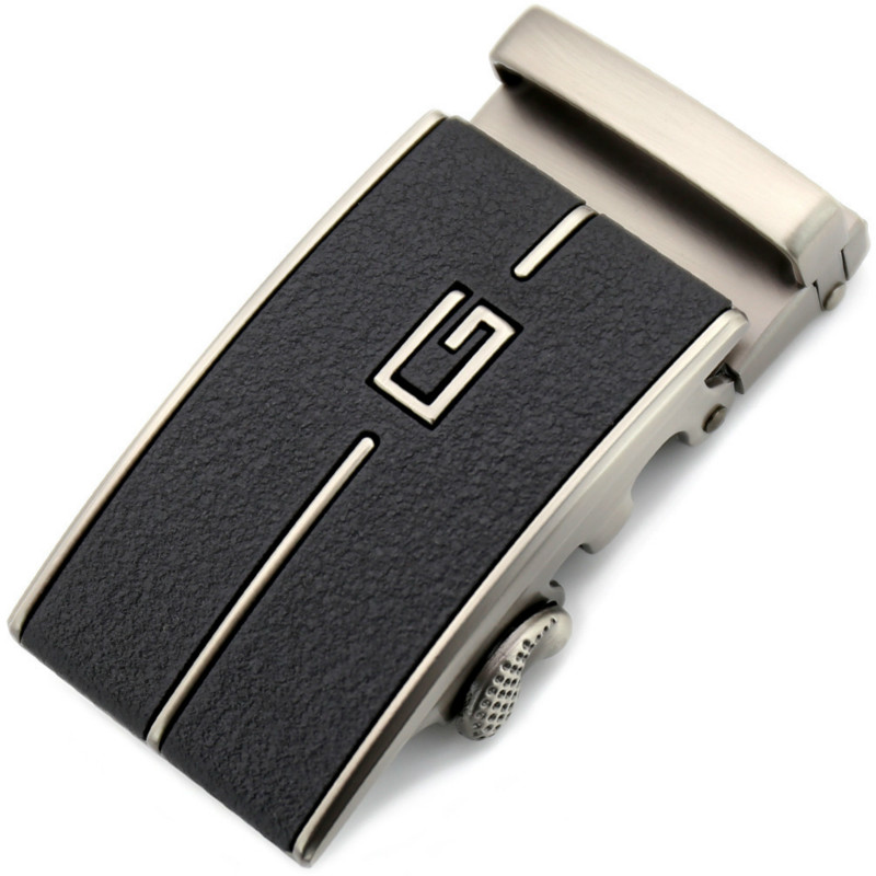 Fashion Letter Belt Buckle Leisure Belt Fittings Men's Belt Buckle Automatic Buckle Head Western Cowboy Dress LY155-3260