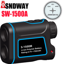 Wholesale prices Golf range finder Telescope 1500m Monocular hunting tools range finder tape measure 900m/1200m laser distance tester rangfinder