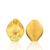 Ethlyn Grande Amarillo Conjuntos de Joyas de oro 24 k Oro Verdadero Plateado de Boda Joyería Nupcial Conjunto para Nigeria y Etiopía/fiesta de la boda africana