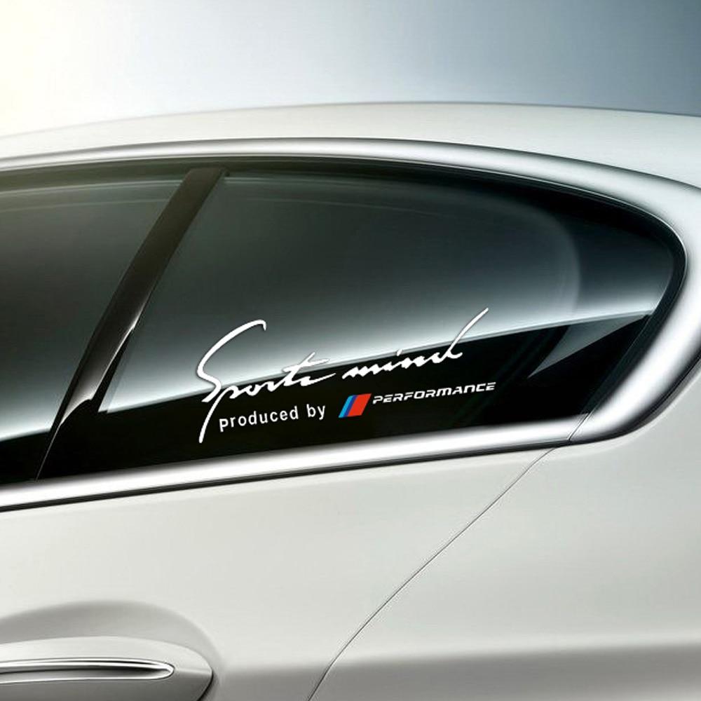 Bmw X6: Car Styling Reflective Side Window 2017 M Performance
