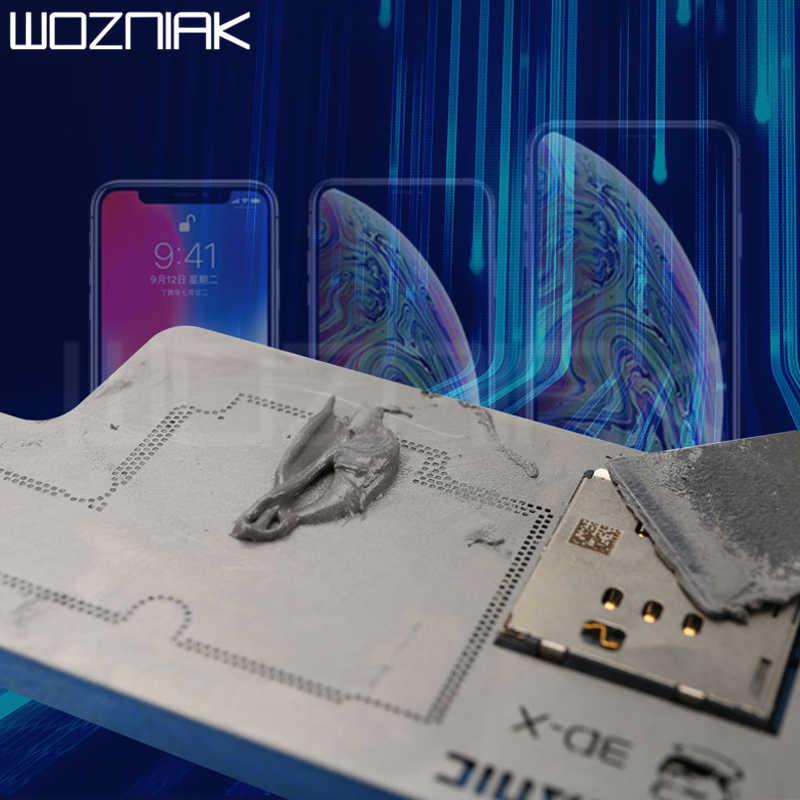 Механик пайки флюс 148 градусов без свинца олово для пайки для Iphone x/xs/xsmax/xr материнская плата слоистая Сварка выделенная