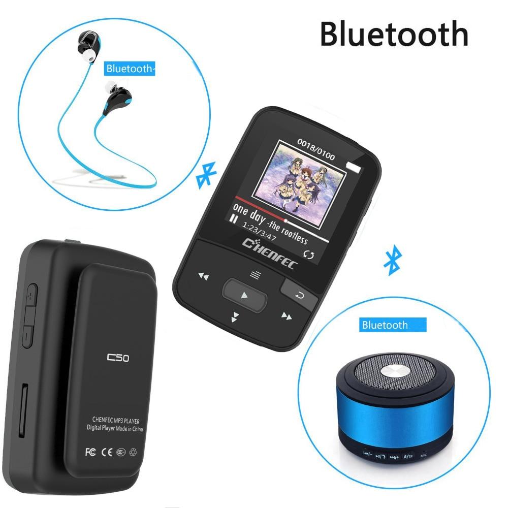 2018 Mini Orijinal X50 Bluetooth MP3 Çalar 8 GB Spor Klip MP3 Müzik - Taşınabilir Ses ve Görüntü