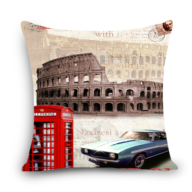 Aliexpress Buy UK London printed dining chair cushion cover