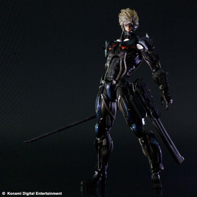 Square Enix Metal Gear Rising Revengeance Solidrising Play Arts Kai Figurine Raiden