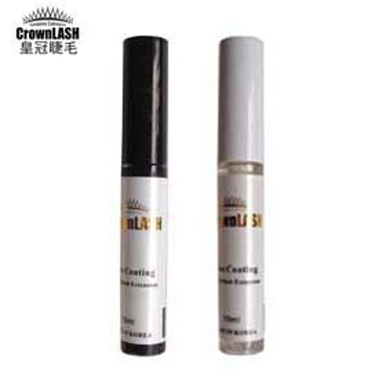 CrownLash szempilla ragasztó bevonat fekete + Clear Set Crown - Smink