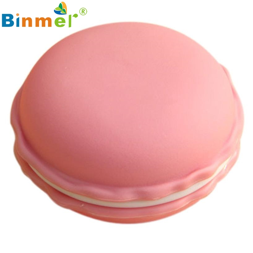 Beautiful Gift New Pink 1pc Earphone SD Card Macarons Bag Big Storage Box Case Carrying Pouch Wholesale price Feb17