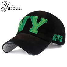YARBUU Baseball caps 2017 new fashion jean cap for men and women high quality casual hat denim summer hats free shipping