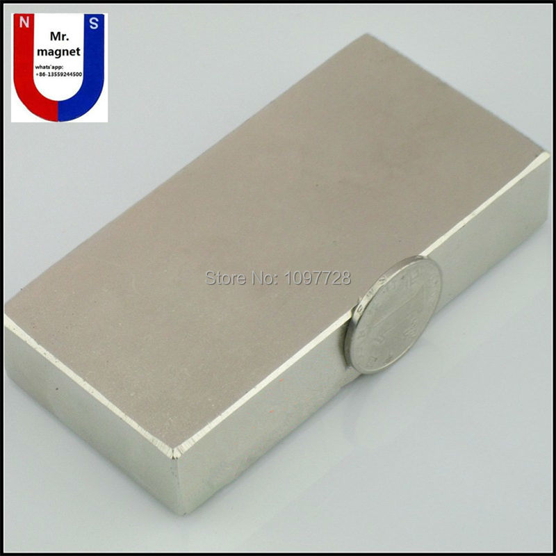 1pc 100x50x20mm Super strong neo neodymium magnet 100x50x20, NdFeB magnet 100*50*20mm, 100mm x 50mm x 20mm magnets 5 x 20mm cylindrical ndfeb magnet silver 20pcs pack
