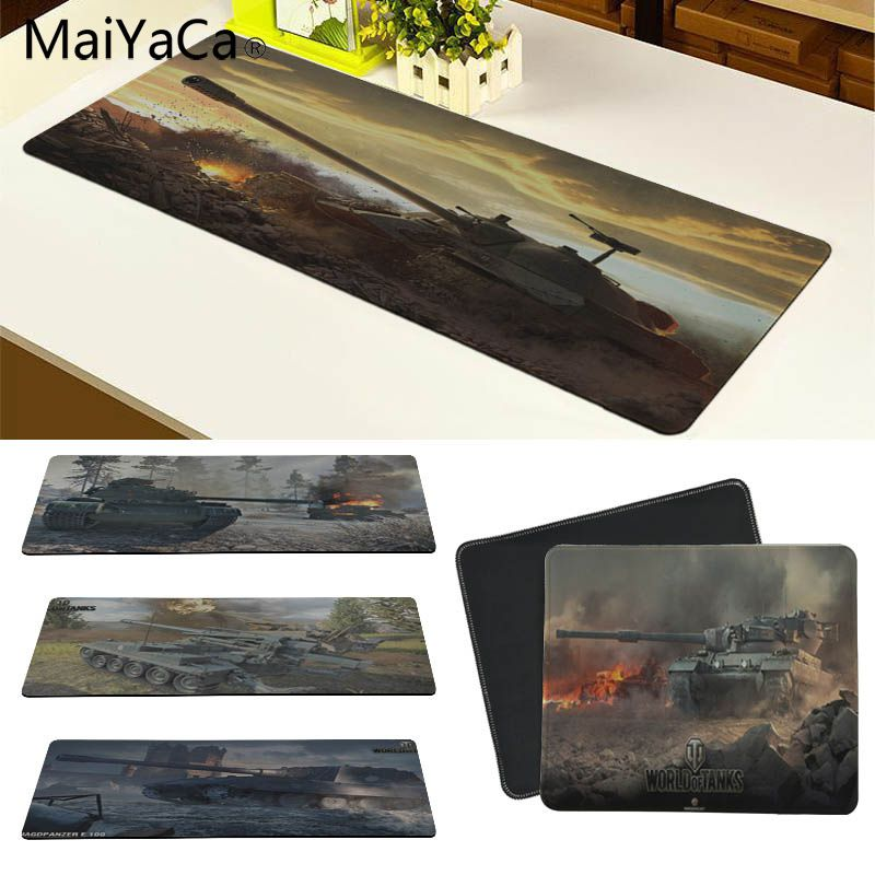 MaiYaCa World of tanks Customized laptop Gaming mouse pad Size for 30x60cm and 30x90cm Gaming Mousepads ...