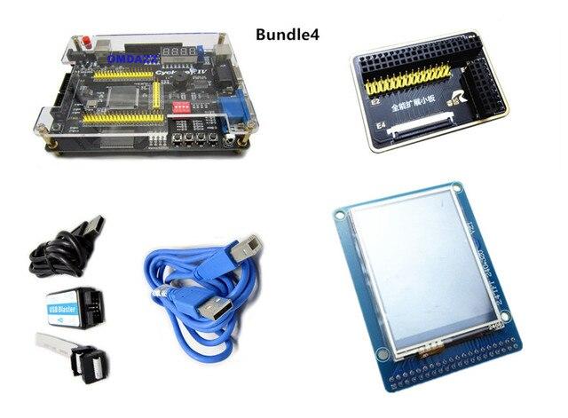 Altera Cyclone IV EP4CE6 FPGA Development Board NIOSII EP4CE PCB and USB  Blaster Jtag AS Programmer