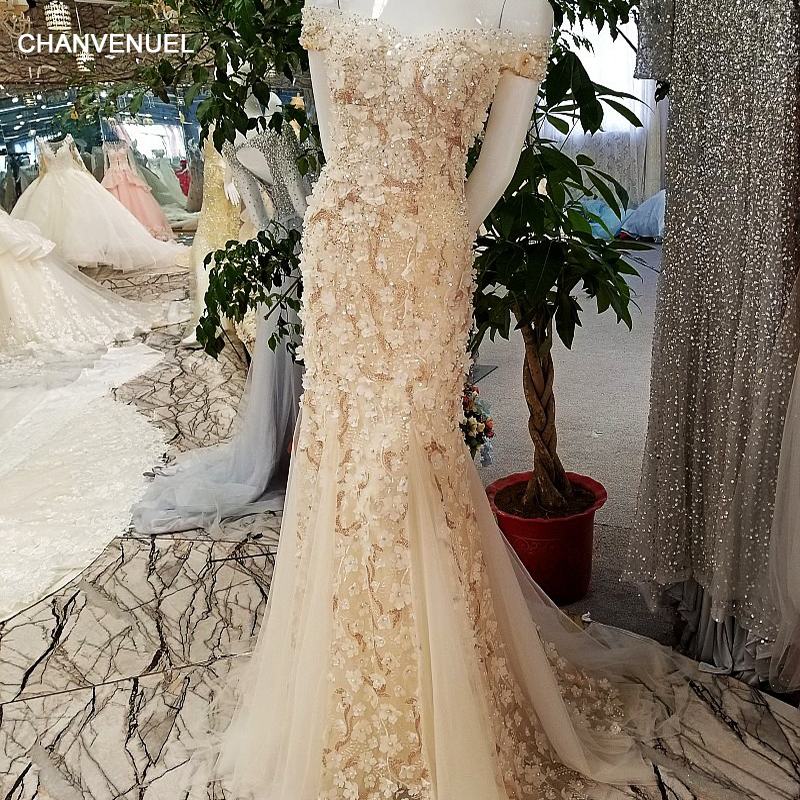 LS00347 robes de soirée de luxe 2017 dentelle fleurs abiye vestidos de fiesta largos elegantes de gala robe longue vestido longo
