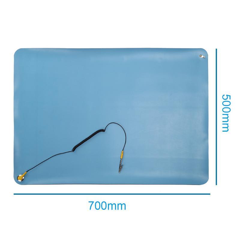 Mobile Phone Repair Anti-Static Mat High Temperature Work Pad Repair Platform For iPhone iPad Samsung Xiaomi 700 X 500mm