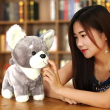 New 1pc 35cm Japanese Shiba Inu Dog Plush Toy Doll Stuffed Cute Cartoon Animal Toy Kawaii Children Birthday Gift for Kids Baby 35cm luminous dog plush doll colorful led light glowing dogs kids toy children girls gift kawaii stuffed animal toy
