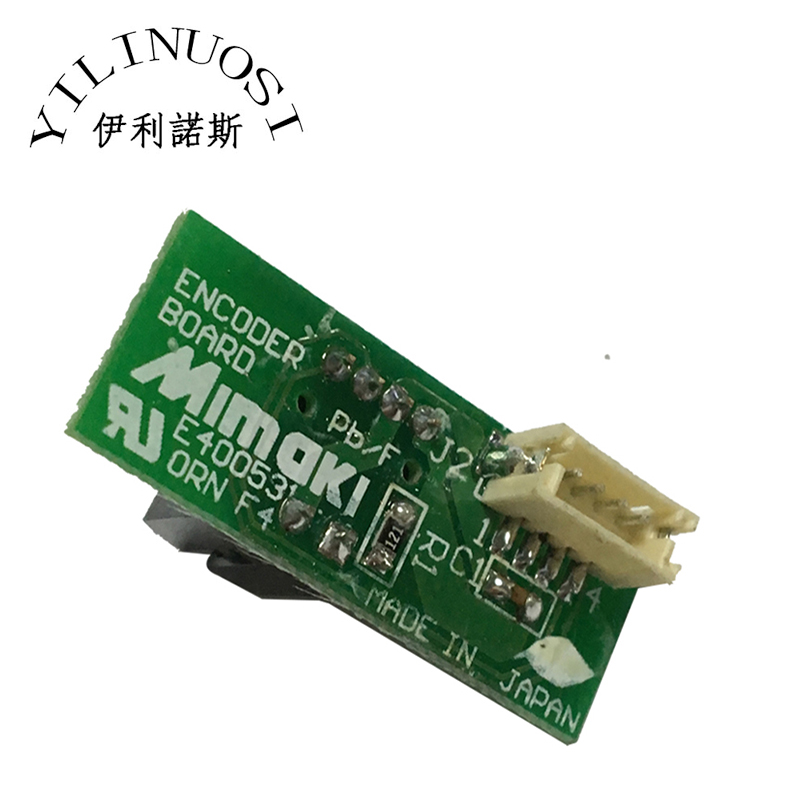 Original encoder strip sensor Mimaki JV33 JV5 CJV30 JV300 CJV150 TS3 TS5 Printer linear encoder board best price mimaki jv33 jv5 ts3 ts5 piezo photo printer encoder raster sensor with h9730 reader for sale 2pcs lot