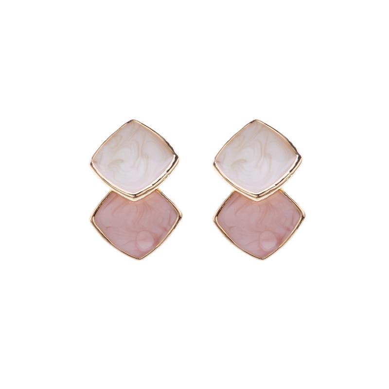 Wholesale New Arrive Earrings For Women Brinco Oil Drip Fashion Jewelry Accessories Stud Earrings ED090