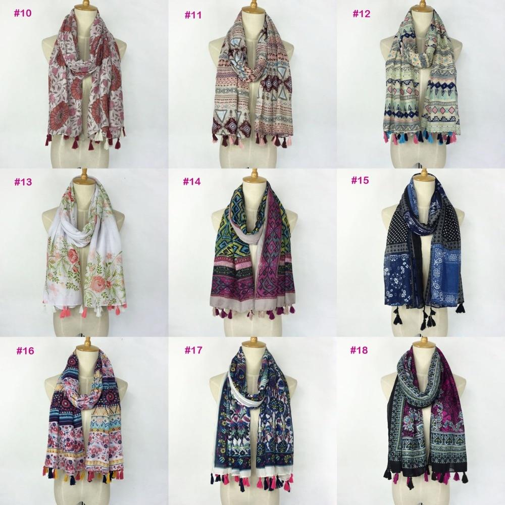 écharpe de soie-tournant écharpe en soie étole des neuf hss-003 Écharpe en soie M