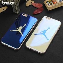 JAMULAR Blu-ray Michael Jordan Soft Case For iPhone