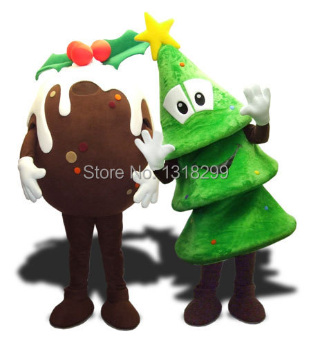 MASCOT PARK christams xmas tree costume fancy dress custom fancy costume cosplay mascotte theme carnival costume kits