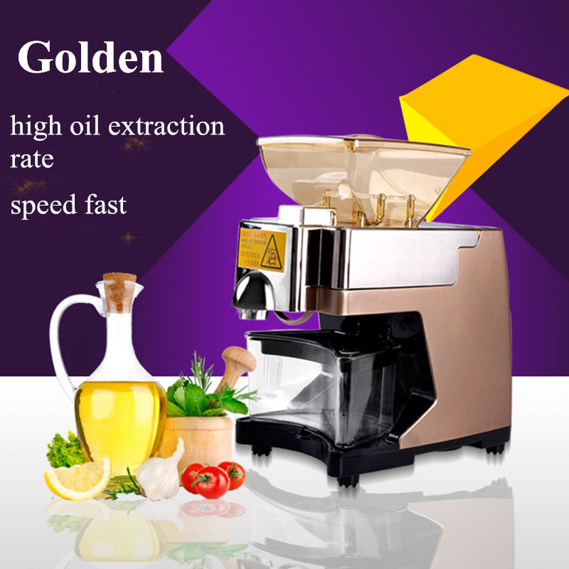 New type oil press squeeze sesame oil peanut oil rapeseed olive Pistachio pecan small almond oil press machine ZF intelligent business elementary coursebook cd rom