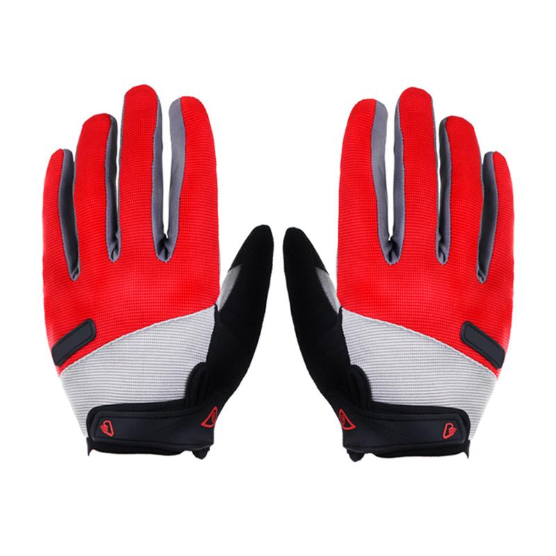 Outdoor Windproof Touch Screen Cycing Gloves Bike Warm Knit Gloves Shockproof Insulation Sports Unisex Full Finger Riding Gloves